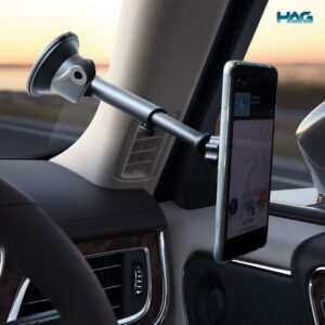 To show how HAG Magnetic Phone holder looks like when it is hanged up