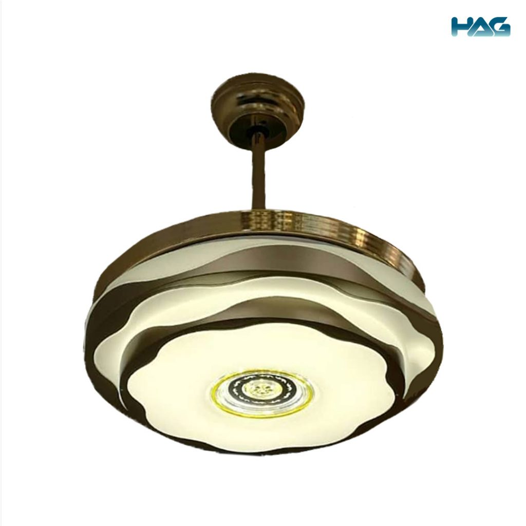 HAG Invisible Blade Ceiling Fan 6069 (Classic Gold) feature photo