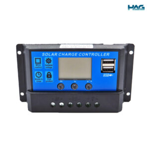 To show the front view of the 10A solar charge controller