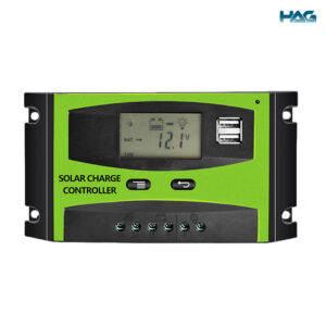 To show the front view of the 20A 30A solar charge controller