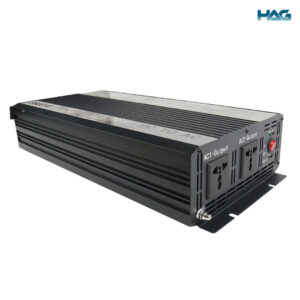 to show side front of HAG Solar Power Inverter 3000W